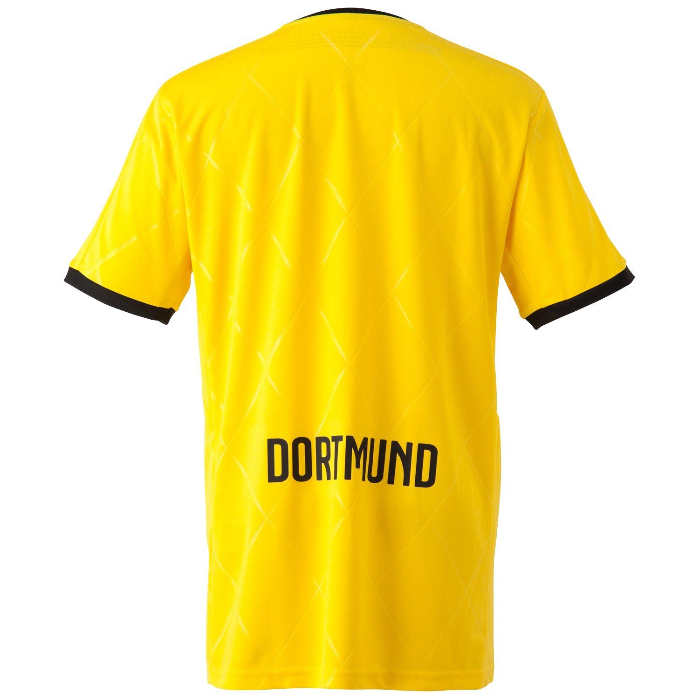 33f62b6f8 Amazon.com : PUMA 2015-2016 Borussia Dortmund European Home Football Soccer  T-Shirt Jersey : Sports & Outdoors