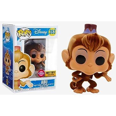 Funko Pop! Disney: Aladdin - Abu (Flocked Exclusive) #353: Toys & Games