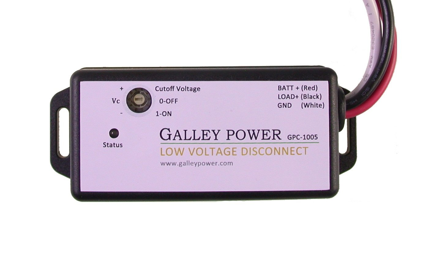 Galley Power Llc Low Voltage Battery Disconnect 20a Volt 4 To 10 Ah Charger Circuit Using A 12 Relay 12v 24v Auto Detect Garden Outdoor