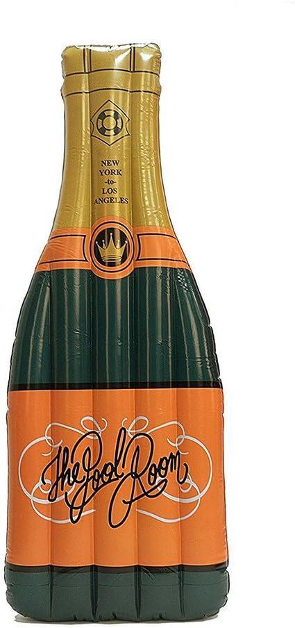 Amazon.com: Giant Inflatable Botella de champaña Pool Float ...