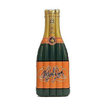 Piscina inflable gigante flotador de la botella de champán y Piscina Juguetes de la piscina Fácil