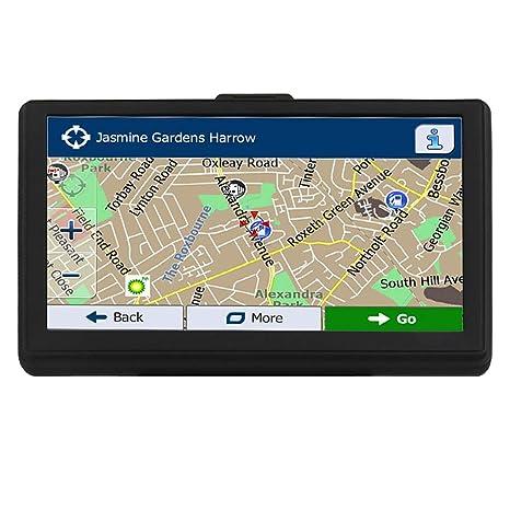 GPS Navi Navigation Coche cartografía Europea 7 Pulgadas 8 G ...