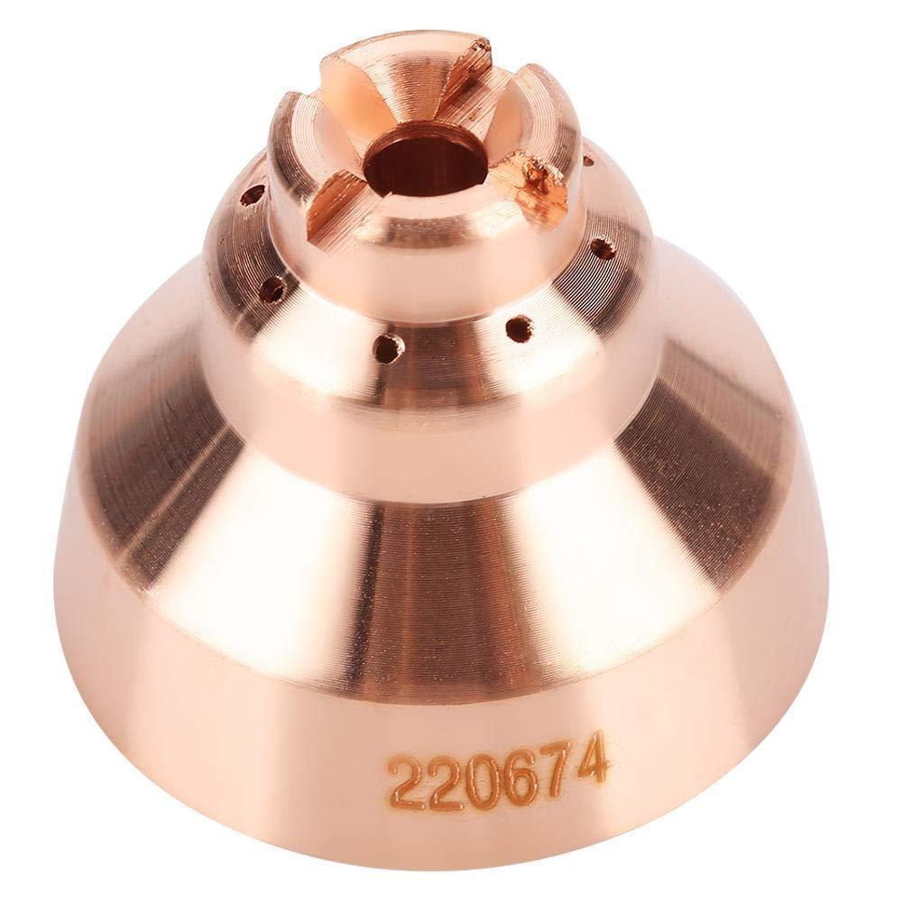 Donwind 5Pcs 220674 Shield Cap fit Hypertherm Powermax 45