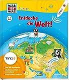 Was ist was Junior: Entdecke die Welt! Kinderbuch ab 4 Jahren zu lesen: Kontinente, Länder, Kulturen (TING - Spielen, Lernen, Wissen)
