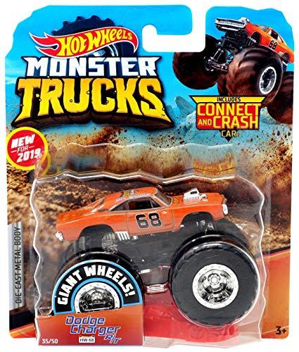 2019 Hot Wheels Monster Trucks - Dodge Charger R/T