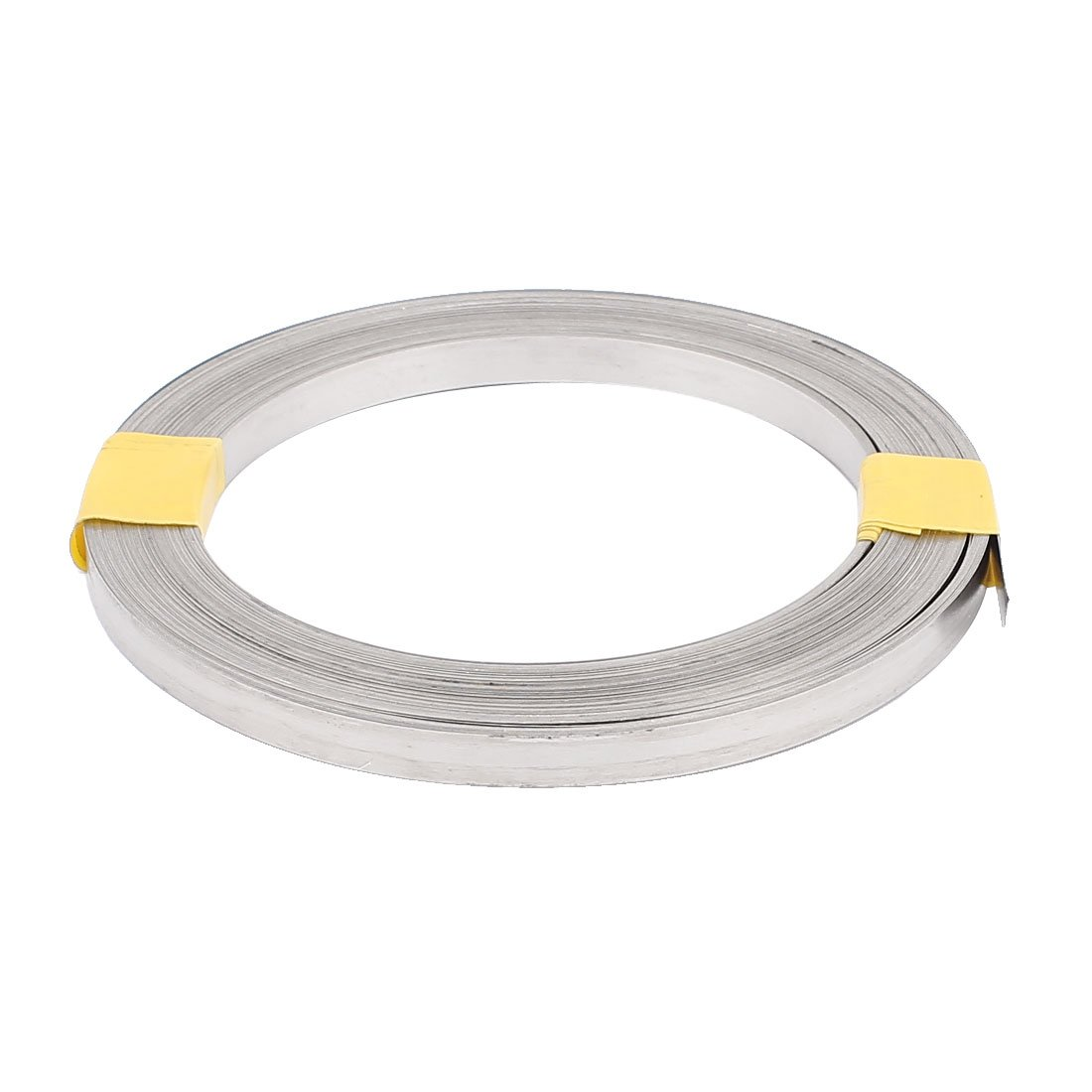 uxcell 15M 49Ft 0.2x6mm Nichrome Flat Heater Wire for Heating Elements
