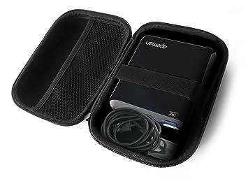 Amazon.com: FitSand Carcasa rígida para apeman Mini ...