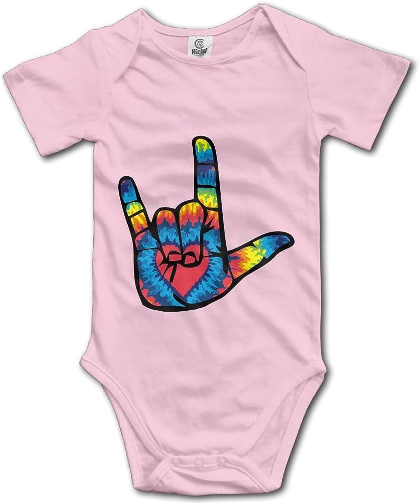 Baby Boy Girl Bodysuits Blue Ribbon I Love My Bulldog Toddler Jumpsuit