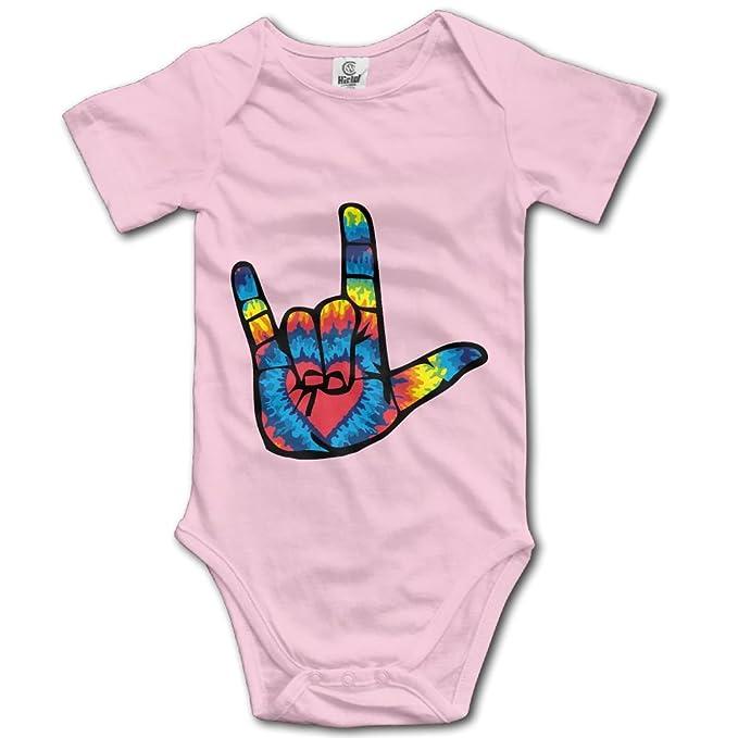 Amazon.com: ASL I Love You Sign Language recién nacido niño ...
