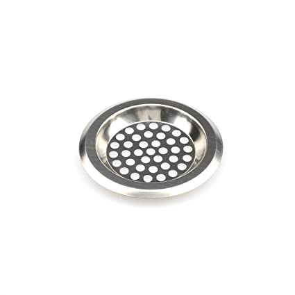 kitchen and bathroom sink strainer stainless steel bathub drain rh amazon com bathroom sink drain screens best bathroom sink drain strainer
