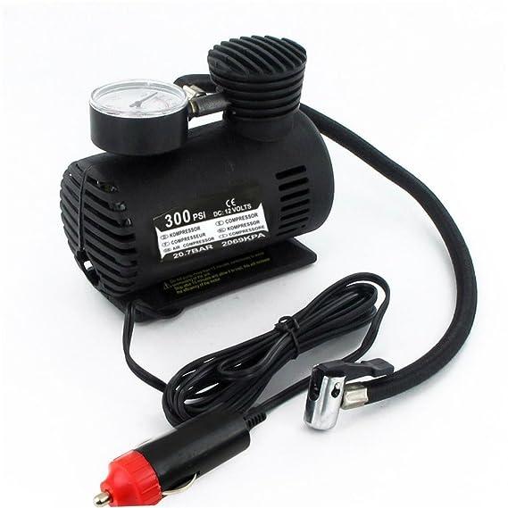 12 V portátil Mini compresor de aire 300 PSI para Neumático de ...