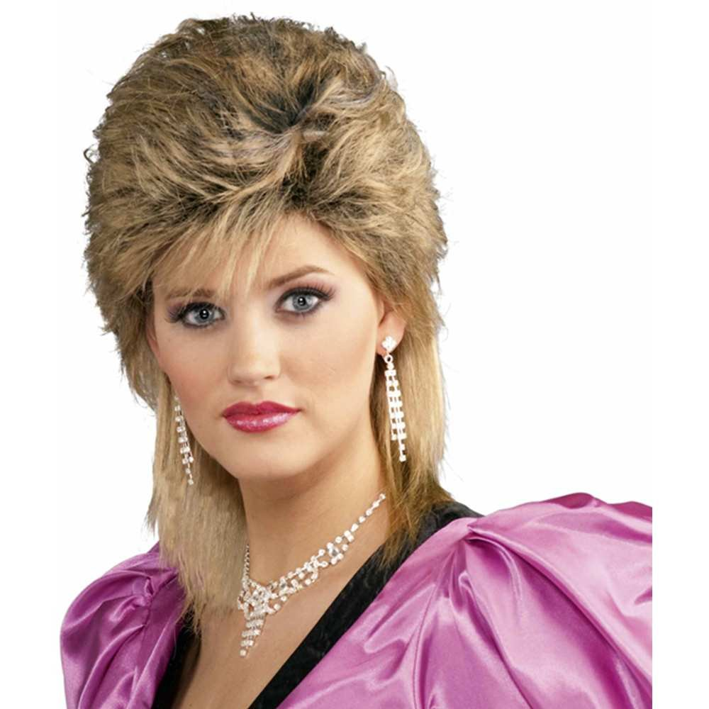 Amazon.com  Forum Novelties Women s 80 s Salon Wig-Mixed bd4061c74f