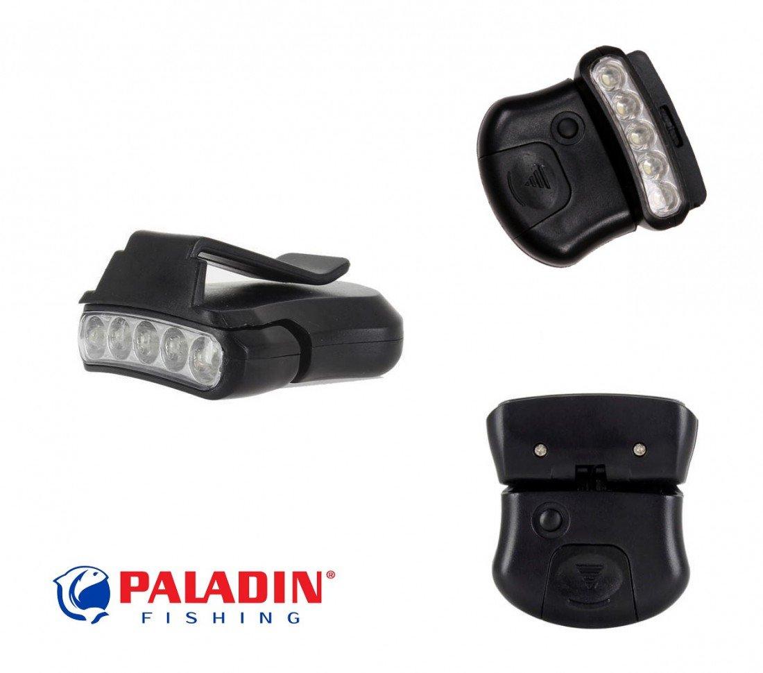 Clip Light 5LED Caplight für Basecap Molle Schuhlampe Etc