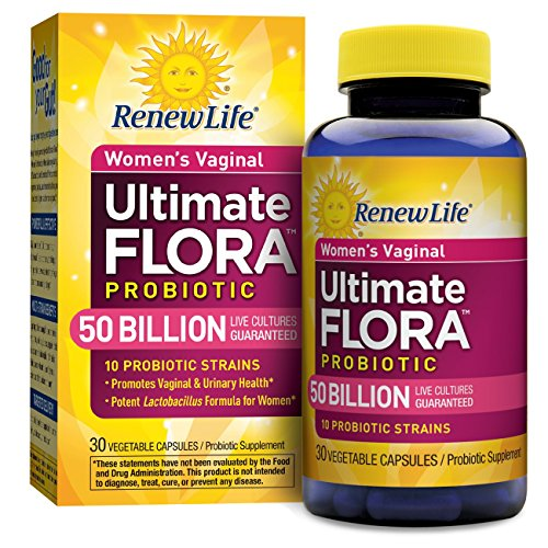 Renew Life - Ultimate Flora Probiotic Women's Care - 50 billion - 30 vegetable capsules