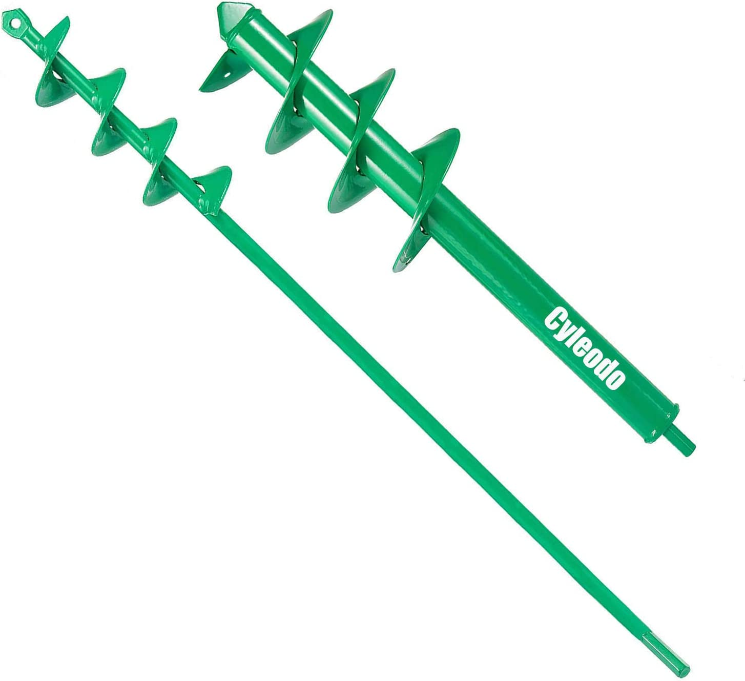 Cyleodo 2 Pack Extended Length Auger Drill Bit 30