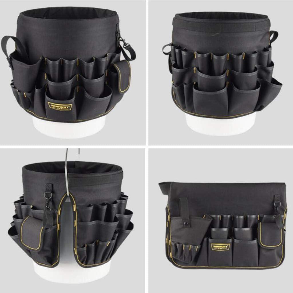 30x28 cm Werkzeugtasche Werkzeugkoffer Eimer Werkzeugaufbewahrung