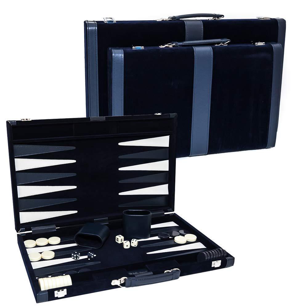 Bleecker Street Designer Backgammon Set - Available in Medium and Large Sizes