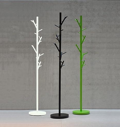 milanari Ropa Perchero Metal Tree, Verde, Höhe: 170 cm Ø 28 ...