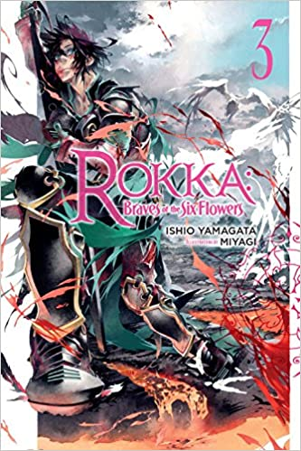 Image result for rokka braves of the six flowers vol 3 cover