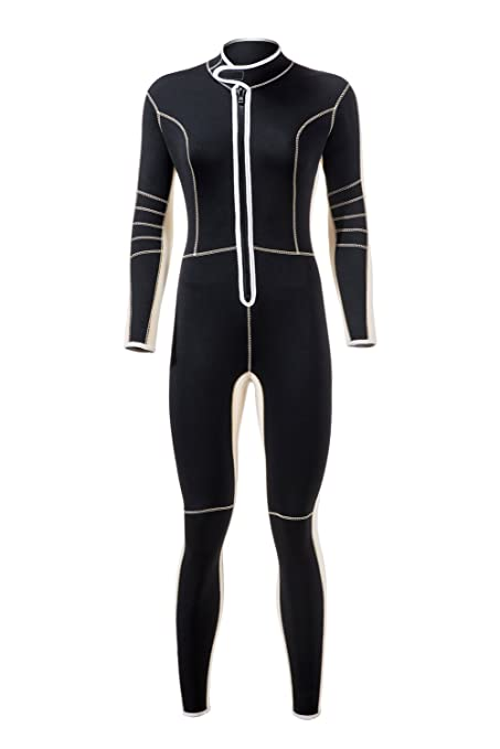 Image Unavailable. Image not available for. Color  Divecica Women Wetsuits  Neoprene 3mm Full Body Diving Suit (XL) a7da5f2be