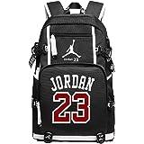 49111f74af YOURNELO Basketball Player Rucksack School Backpack Bookbag