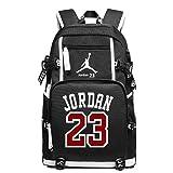 YOURNELO Basketball Player Rucksack School Backpack Bookbag