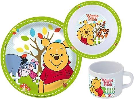 Winnie Puuh 3er-Set Porzellan-Fingerh/üte zum Sammeln