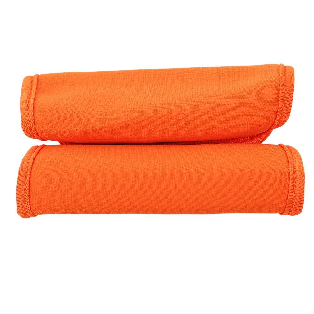 Orange kemai Kinderwagen Armlehne Schutzh/ülle Kindergriffgriffe Bar Schutzh/ülle Kinderwagen Zubeh/ör