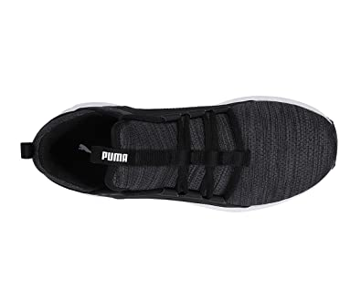 Puma Mega NRGY Heather Knit WNS Black  Buy Online at Low Prices in India -  Amazon.in e95e43df5