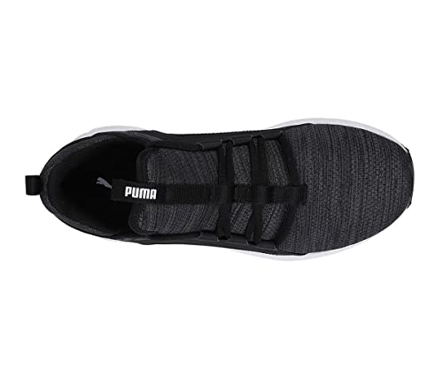 fca9caa7bee62c Puma Mega NRGY Heather Knit WNS Black  Buy Online at Low Prices in India -  Amazon.in