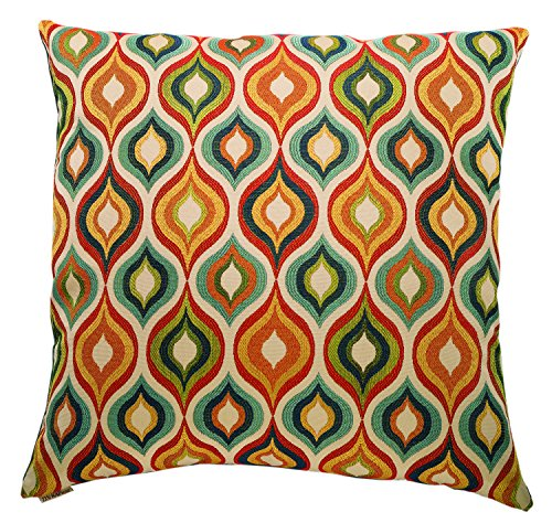 Canaan Company Flicker Decorative Throw Pillow, Multicolor (Canaan Company Pillow compare prices)