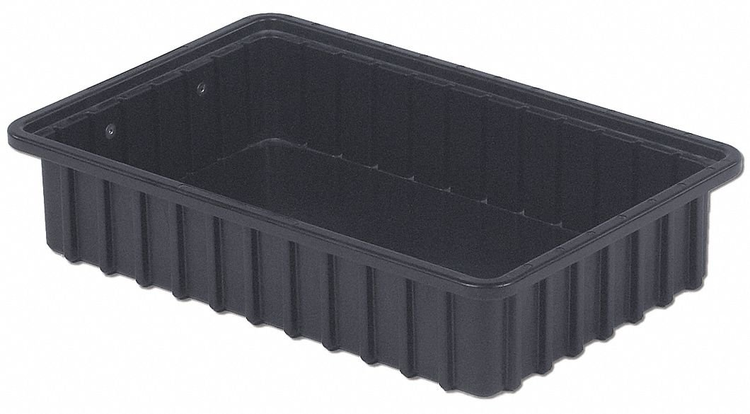 ESD - Caja separadora (40,6 x 27,9 x 8,9 cm), color negro: Amazon ...