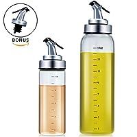 Olive Oil Dispenser Set - Agvincy Kitchen Accessories Salad Dressing Bottle