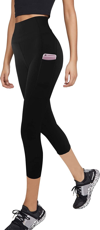 3W GRT Leggings mujer fitness,Mallas Deportivas de Mujer,Pantalones elásticos de yoga con bolsillos laterales,polainas de yoga Fitness,Yoga