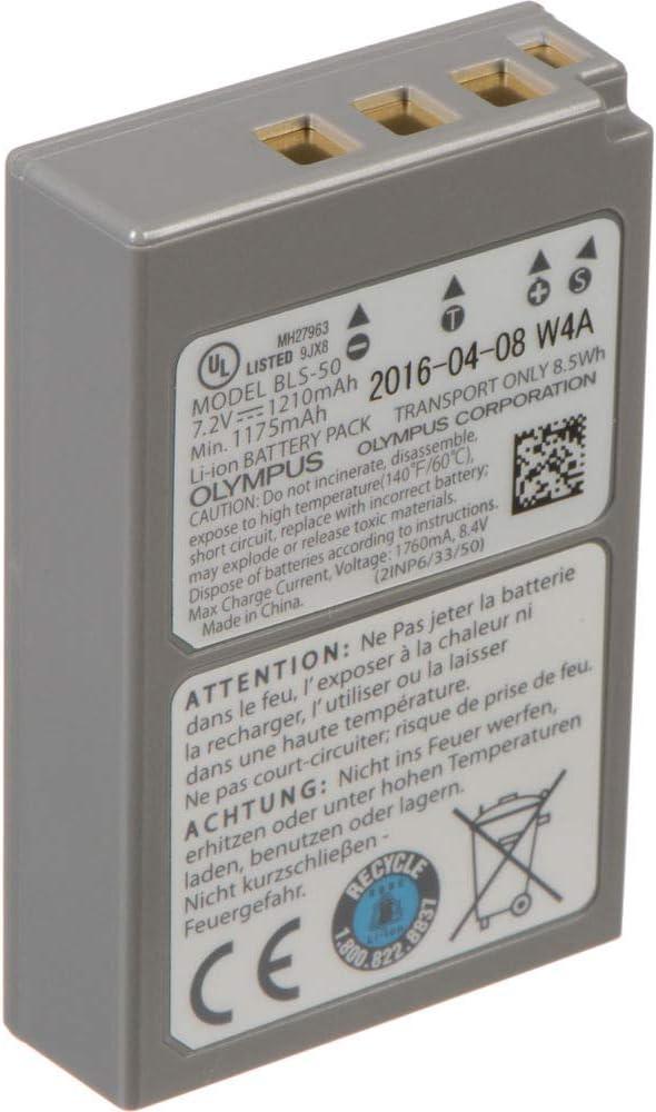 LCD Ladegerät für Olympus Pen E-PL8 2 BLS-5 Akku Patona Battery Pack BLS-50