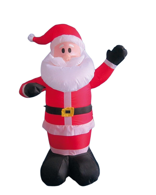 My Home Hinchable navideña con Ventiladores y luz, Altura ...