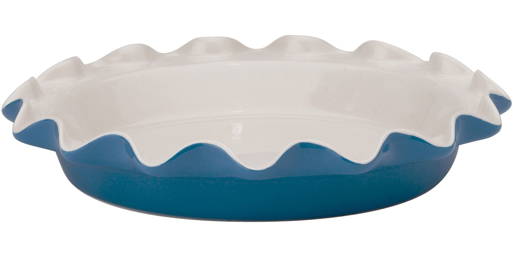 Rose Levy Beranbaum's Perfect Pie Plate, 9-Inch, Ceramic, Blueberry by HIC Harold Import Co.
