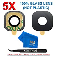 MMOBIEL Back Rear Camera Glass Lens Replacement + Pre-Installed Adhesive +TWEEZER for Samsung Galaxy S7 G930 / S7 Edge G935 Series + Cleaning Cloth
