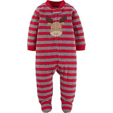 2667e1d5f Amazon.com  Child of Mine Carter s Baby Boys  Button Up Microfleece ...