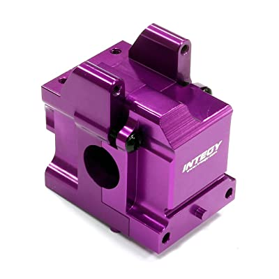 Integy RC Model Hop-ups T8681PURPLE Billet Machined Gear Box for HPI Ken Block WR8 Flux & WR8 3.0