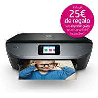 HP Envy Photo 7130 – Impresora multifunción inalámbrica (Tinta, Wi-Fi, copiar, escanear, impresión a Doble Cara, 1200 x 1200 PPP, Incluido 4 Meses de HP Instant Ink) Color Negro