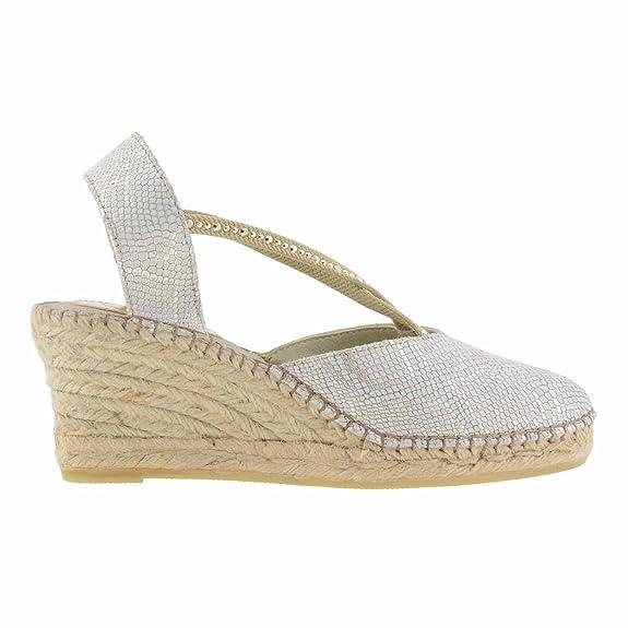 Alpargatas piel oro Talla: 36 Color: ORO: Amazon.es: Zapatos y complementos