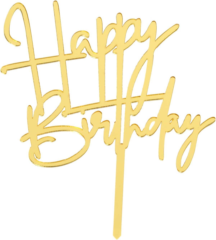 Happy Birthday Cake Topper Birthday Party Decoration Cake Decoration Creative Supplies