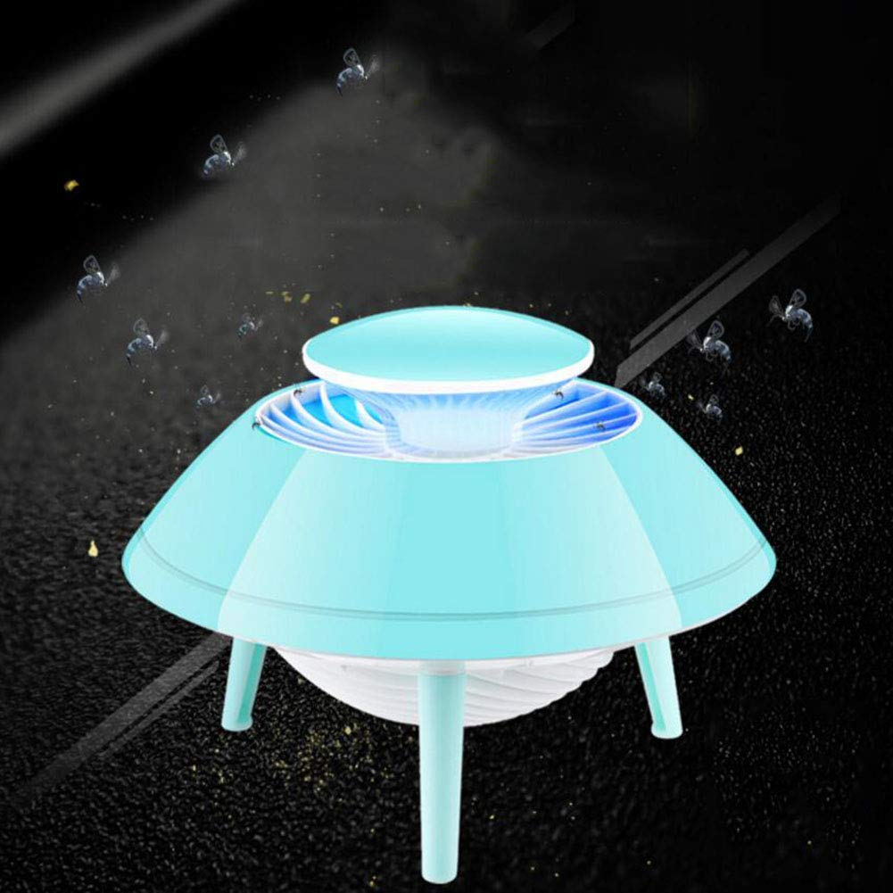 B USB Mosquito Killer Home Bedroom Inhalation Physical Mosquito Killer Silent Radiation-Free Mosquito Lamp for Indoor Woman Baby,B
