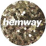 Hemway Gold Iridescent Mix Glitter Chunky Multi