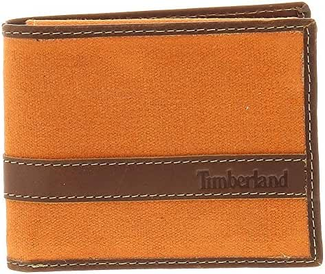 Timberland Men's Canvas Hunter Passcase Wallet