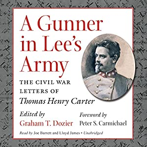 A Gunner in Lee's Army Audiobook
