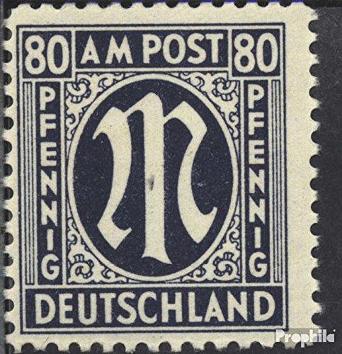 Bizonale (Allied Cast) 34C 1946 su-Post (Francobolli per i collezionisti)
