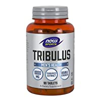 NOW Sports Nutrition, Tribulus (Tribulus terrestris) 1,000 mg, Double Strength,...