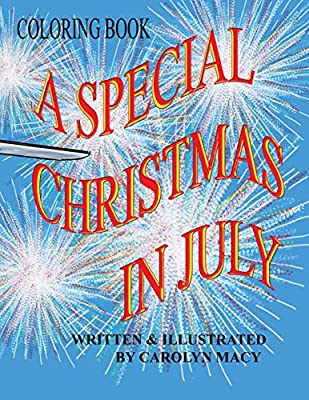 a special christmas in july coloring book